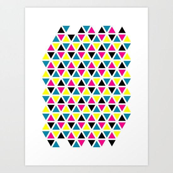 CMYK II Art Print