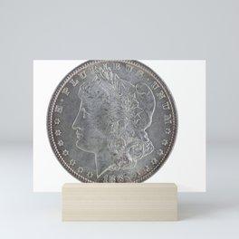United States Morgan Silver Dollar Mini Art Print