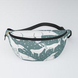 Polar gathering (emerald) Fanny Pack