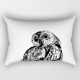 Wow, an owl! Rectangular Pillow