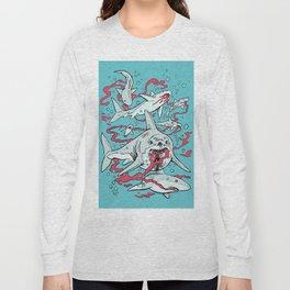 SHARKS AFTER LUNCH Long Sleeve T-shirt