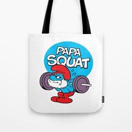 Papa Squat Tote Bag