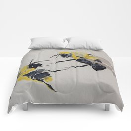 Water colour bees Comforters