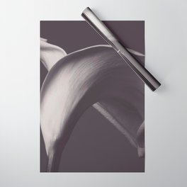 Calla lily photo, fine art, flowers photography, flower still life, wall decor, Robert Mapplethorpe Wrapping Paper