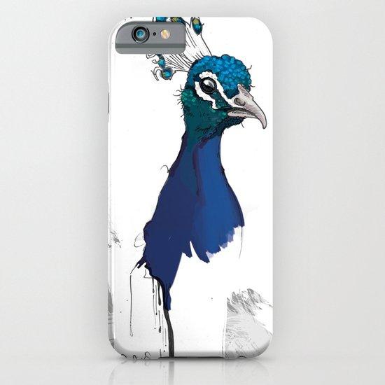 Peacock Head iPhone & iPod Case