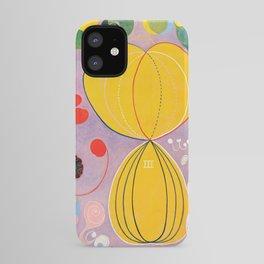 "Hilma af Klint ""The Ten Largest, No. 07, Adulthood, Group IV"" iPhone Case"