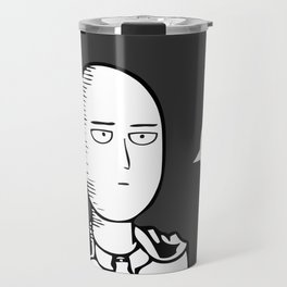 One Punch Man Saitama Travel Mug