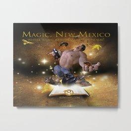 Paranormal: Magic, New Mexico series Metal Print