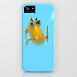 Hungry! The Dangerous Fish! NoLettering iPhone Case