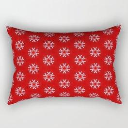 Snowflake Abstract Pattern Rectangular Pillow