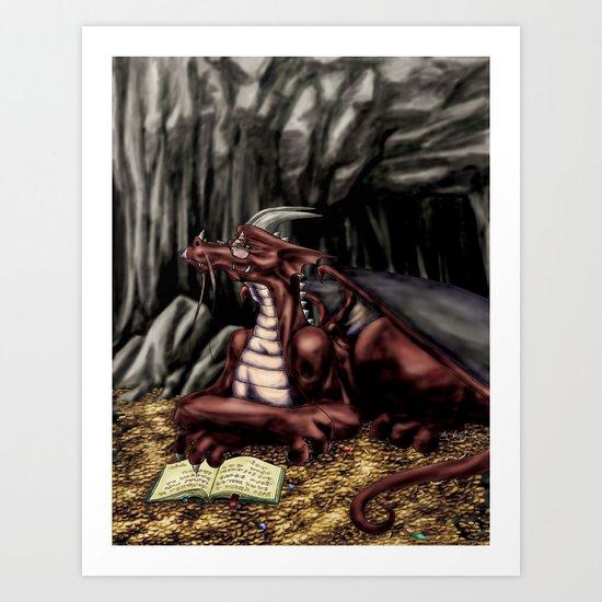 The Dragon's Cave Art Print