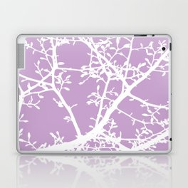 Magnolia Tree Lavender Modern Branches Laptop & iPad Skin
