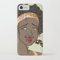 mustache iPhone & iPod Cases featuring Mustache by Chouly-Shop