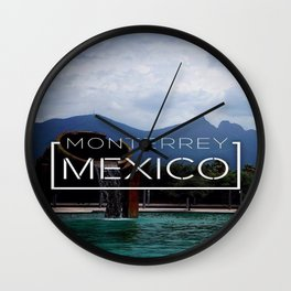 Monterrey Wall Clock