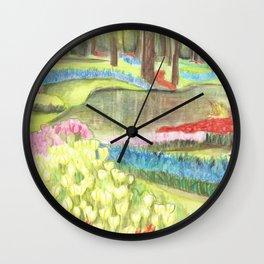 Bit of Holland - Keukenhof Wall Clock