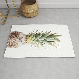 Hedgehog Pineapple Rug