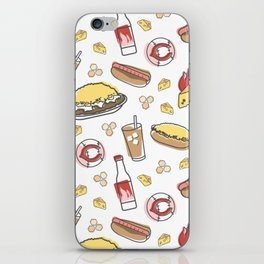 Skyline Chili Pattern Color iPhone Skin