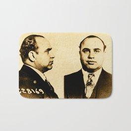 Al Capone Vintage 1930's Mugshot Bath Mat