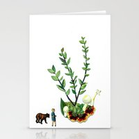 guardians Stationery Cards featuring Guardians  by Ben Giles