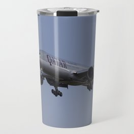 Qatar Airlines Boeing 777 Travel Mug