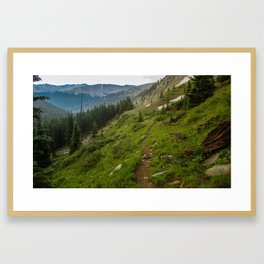 St. Elmo Framed Art Print