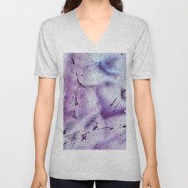 splashes stains paint colored spots gradient Unisex V-Neck