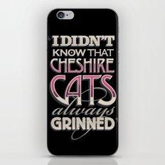 Cheshire Cats iPhone & iPod Skin