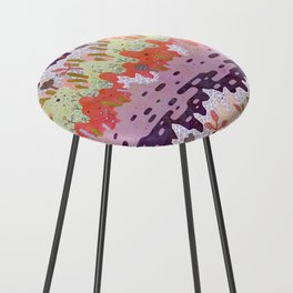 Crystal Forest Counter Stool