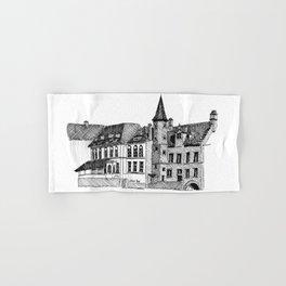 Bruges in Lines Hand & Bath Towel