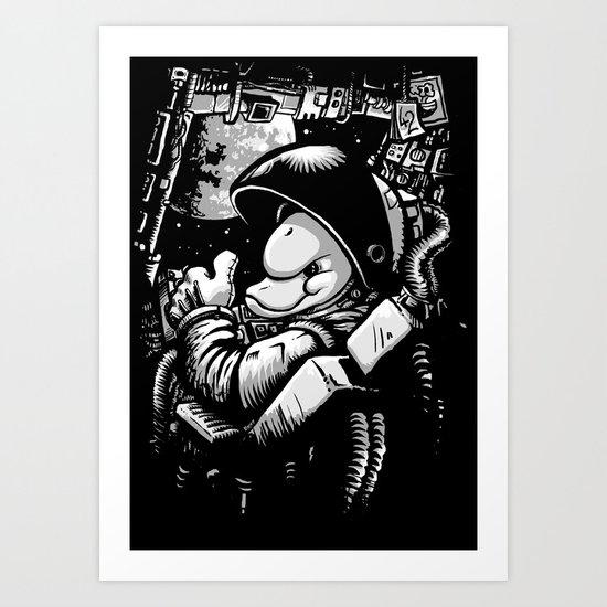 so long and thanks! (alternate version) Art Print