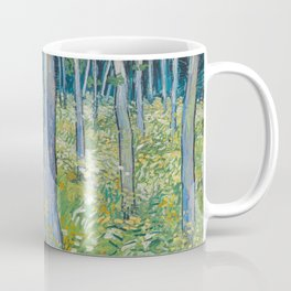 Undergrowth with Two Figures by Vincent van Gogh, 1890 Coffee Mug