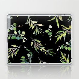 Eucalyptus and Olive Pattern  Laptop & iPad Skin