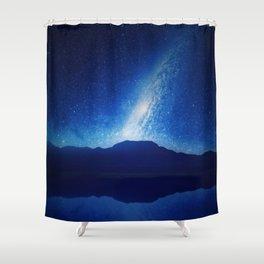 When The World Falls Down Shower Curtain