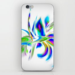 Abstract perfection - Flower Magical iPhone Skin
