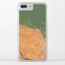 Where the Sandstone Ends Clear iPhone Case