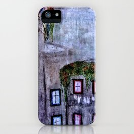 Houses in Milan in the evening Italy iPhone Case