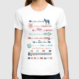 Do Re Mi Fa Sol La Ti Do T-shirt