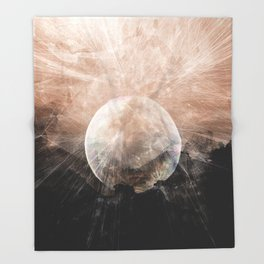 Planetary Soul Grace Throw Blanket