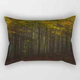 Autumn came Rectangular Pillow