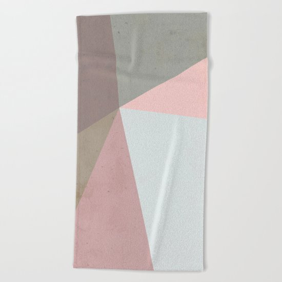 Delicate Geometry Beach Towel