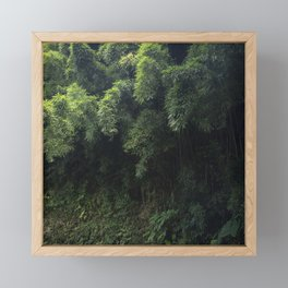 Fantasy Enchantment Mysterious Forest Framed Mini Art Print