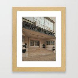 Lisboa Art Deco #04 Framed Art Print