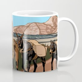 Vintage Poster - Old Spanish National Historic Trail (2018) Coffee Mug