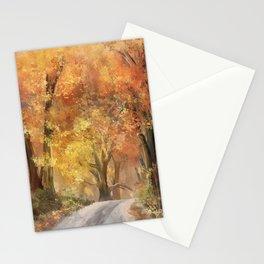 Autumn's Glow Stationery Cards