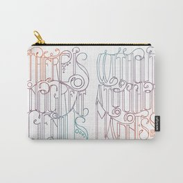 There is no Great Genius Without a Touch of Madness - Seneca Quote Part 1 Carry-All Pouch