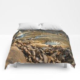 Sleeping Mountain Lion Comforters