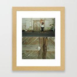 Seams and Stills II Framed Art Print