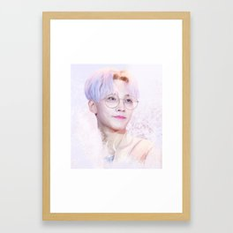 jeonghan Framed Art Print
