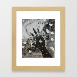 fragile 2 Framed Art Print