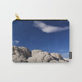 The Brain Rocks of White Pocket Carry-All Pouch